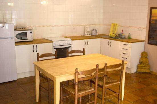 Romarin cuisine et salle a manger