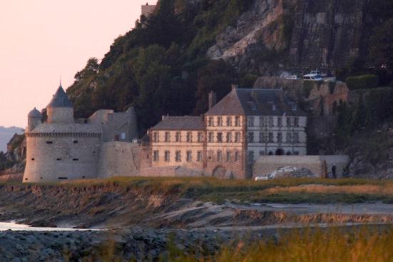 le Mont St Michel.