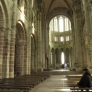 Inside Mont St Michel – my recent visit to the abbey
