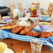 Breakfast at la Ferme de la Baie – petit déjeuner pour vous?